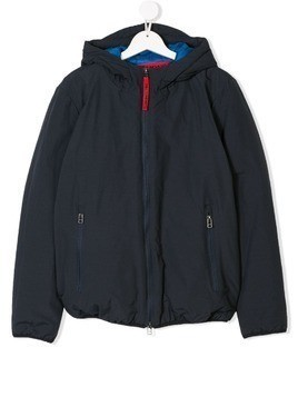 Freedomday Junior hooded jacket - Blue