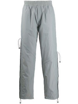 C2h4 straight-leg track pants - Grey