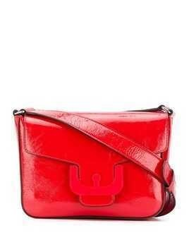 Coccinelle foldover crossbody bag - Red