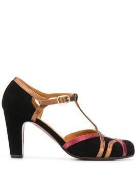 Chie Mihara Korea metallic pumps - Black