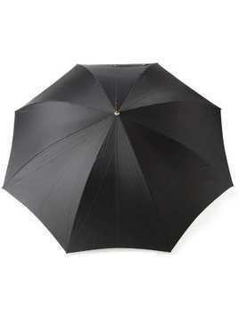Alexander McQueen skull handle umbrella - Black