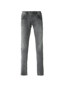 Dondup faded straight leg jeans - Grey