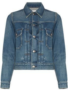 Hyke fitted denim jacket - Blue