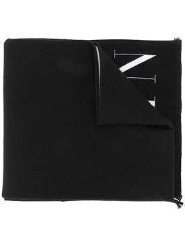 Valentino VLTN STAR two-toned scarf - Black