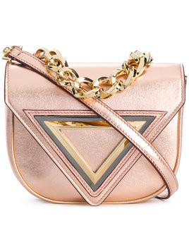 Giaquinto - Candy mini shoulder bag - Damen - Leather - One Size - Metallic