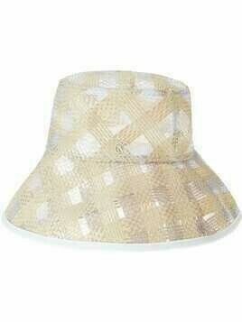 Maison Michel Charlotte semi-sheer bucket hat - Neutrals