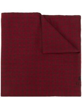 Etro checked scarf - Red