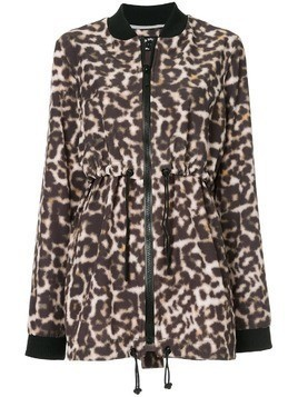 The Upside leopardprint drawstring jacket - Brown