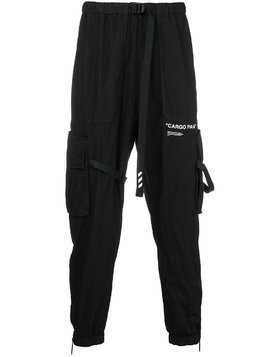 Off-White Cargo Pant trousers - Black
