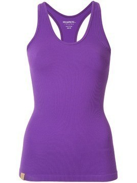 Monreal London seamless ribbed tank top - PURPLE
