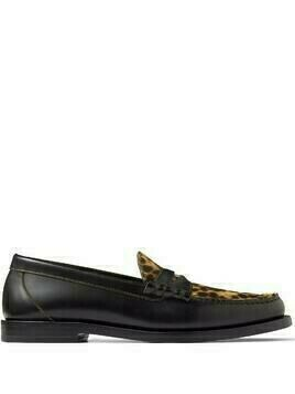 Jimmy Choo Mocca loafers - Black