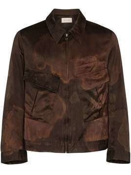 Bed J.W. Ford silk and cotton-blend shirt jacket - Brown