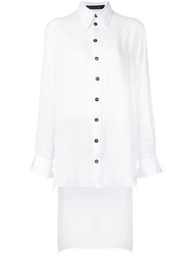 Heikki Salonen elongated shirt - White