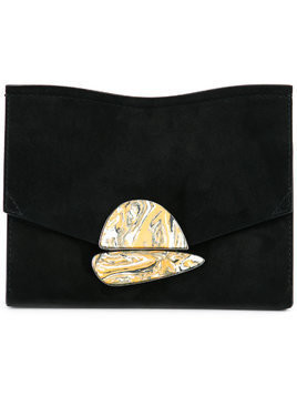 Proenza Schouler Small Curl Clutch - Black
