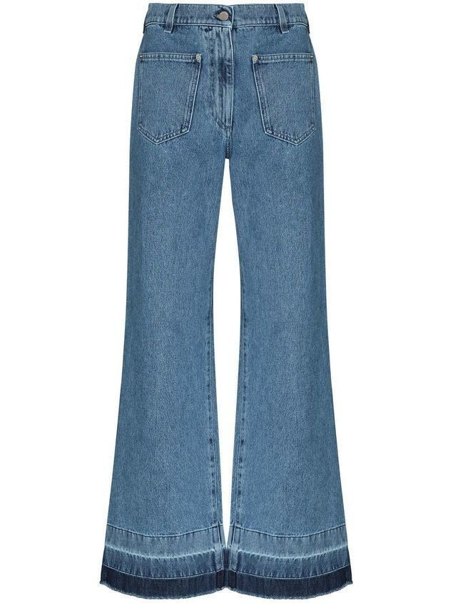 JW Anderson high-waist flared jeans - Blue