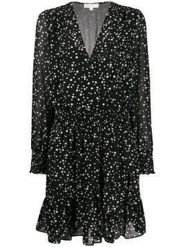 Michael Michael Kors dotted print dress - Black