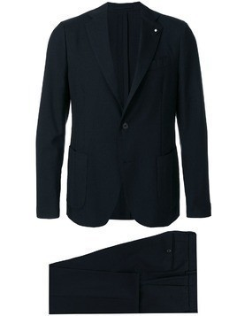 Lardini classic formal suit - Blue