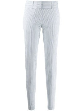 Max & Moi striped trousers - White