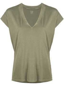 Frame v-neck blouse - Green