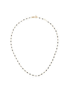 Gigi Clozeau black YG bead yellow gold necklace