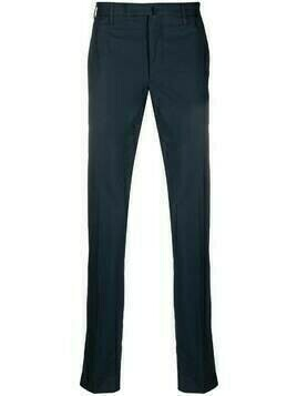 Incotex slim-cut chino trousers - Blue