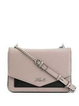 Karl Lagerfeld K/Pocket shoulder bag - Grey
