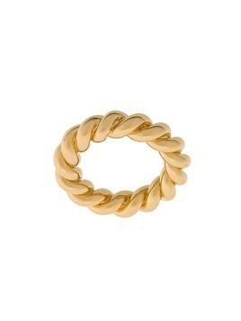 Isabel Lennse wide twisted ring - Gold