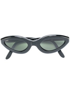Moschino Pre-Owned cat eye sunglasses - Black