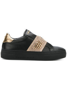 Philipp Plein embellished sneakers - Black
