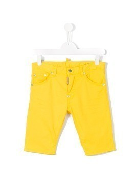 Dsquared2 Kids casual shorts - Yellow&Orange
