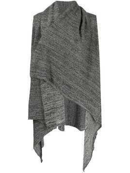 Daniel Andresen Calla sleeveless cardigan - Grey