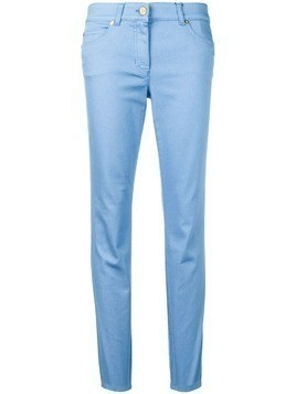 Escada low rise skinny jeans - Blue