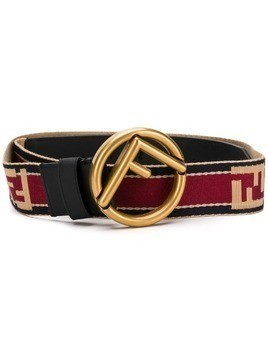 Fendi logo belt - Black