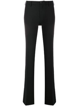 Pt01 Elsa flared trousers - Black