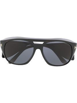 Tom Ford Eyewear Fender soft-square sunglasses - Black