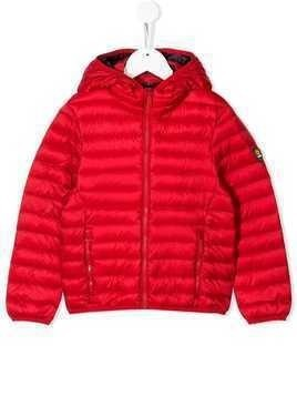 Ciesse Piumini Junior hooded padded jacket - Red