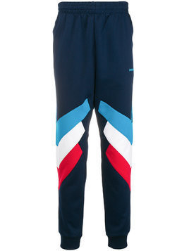 Adidas panelled sweatpants - Blue