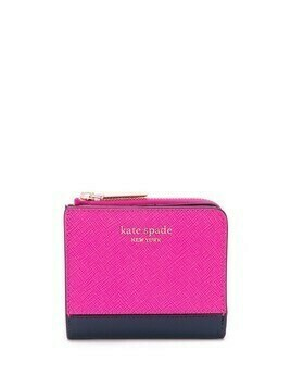 Kate Spade Spencer small bifold wallet - PINK