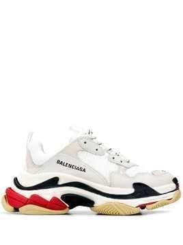 Balenciaga Triple S low-top sneakers - White