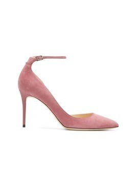 Jimmy Choo Lucy ankle strap pumps - Pink&Purple