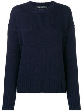 Iris Von Arnim relaxed fit jumper - Blue