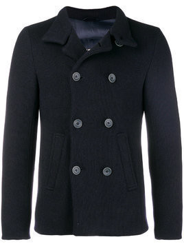 Herno padded cropped peacoat - Blue