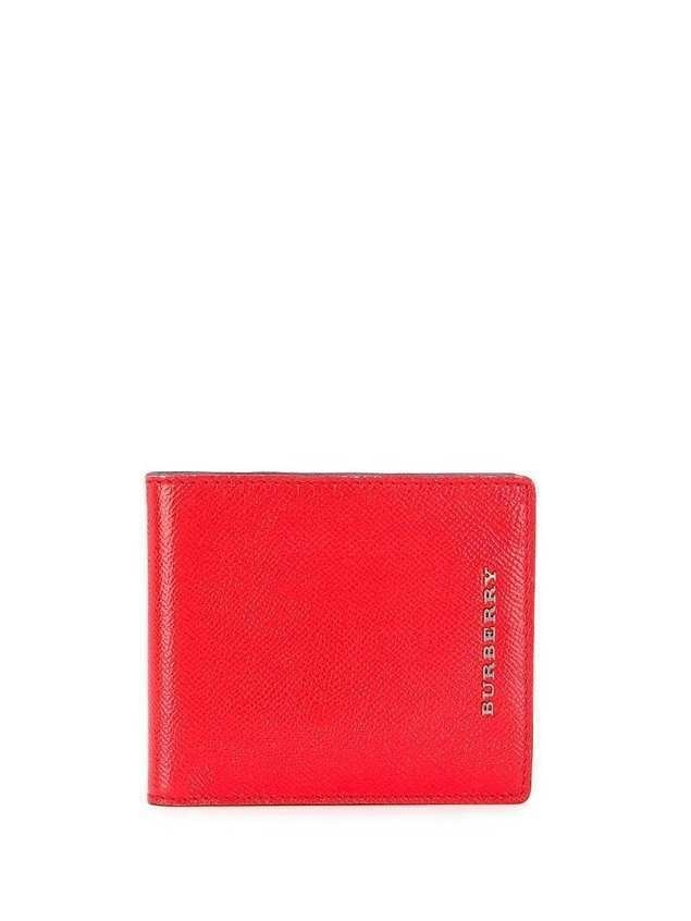 Burberry Pre-Owned bilfold wallet - Red