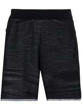 adidas x Missoni Saturday knit track shorts - Black