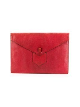 Yves Saint Laurent Pre-Owned clutch bag - Red