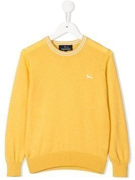 Harmont & Blaine Junior embroidered jumper - Yellow