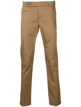 Al Duca D'Aosta 1902 straight-leg trousers - Brown