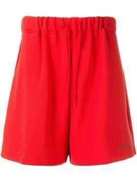We11done sweat shorts - Red