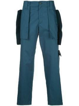 Craig Green utility trousers - Blue