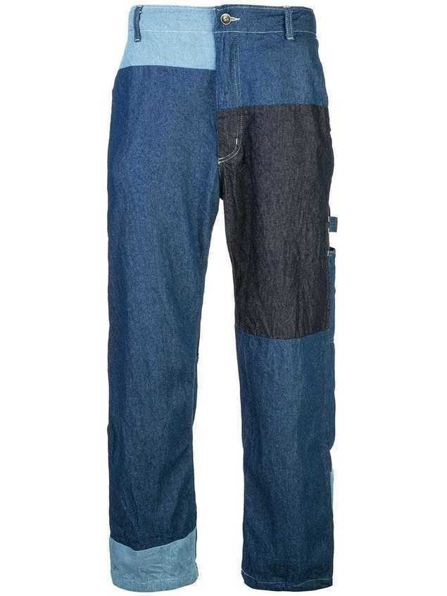Engineered Garments denim painter trousers - Blue
